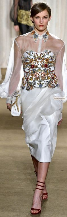 Marchesa for Fall Winter 2013