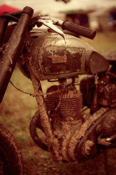 Rusty old BSA