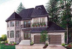 European Victorian House Plan 65210 Elevation