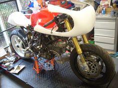 Ducati 900 cafe racer . by REDMAXSPEEDSHOP.COM, via Flickr