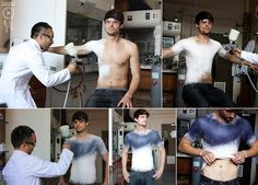 Spanish fashion designer Manel Torres invented the world's first clothes-spray, which after application to the body can be removed, washed and worn again. Spray consists of special fibers mixed with polymers, so that the product obtained elastic and durable.