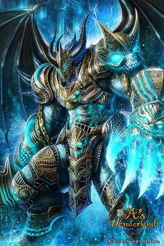 Living in 6661 Fantasy Demon, Fantasy Beasts, Demon Art, Fantasy Weapons, Fantasy Warrior, Dark Fantasy Art, Fantasy Artwork, Warrior Angel, Fantasy Character Design