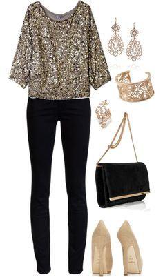 5. A New Year's Eve outfit #GrandHomeFurnishings LOVE