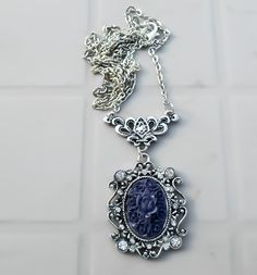 Purple necklace, regina necklace, Once upon a time, evil queen necklace, ouat jewelry, Queen necklace