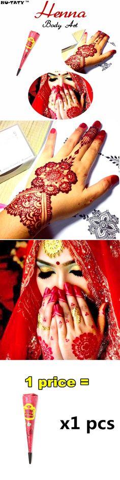 Nu-TATY 25g Glitter Henna Gold Dust Body Paint Tattoo Shimmer Indian Temporary Flash Tattoo Art Makeup Tools