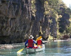 River Canoeing, Ozark National Scenic Riverways, Missouri ...