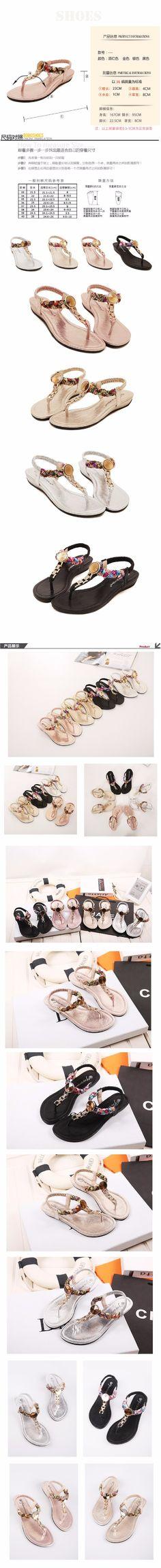 2016 femme sandales et tongs mode femmes sandales confortables chaussures femme cristal décoration sandales chaussures d'été dans Sandales pour femmes de Chaussures sur AliExpress.com | Alibaba Group