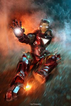 The Avengers - I R O N M A N by vaxzone on @DeviantArt