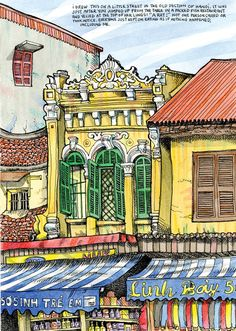 Urban Sketchers: My Trip To Vietnam