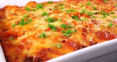 Fitness Blender& healthy Mexican Lasagna recipe is loaded with vegetables and delicious! Healthy Vegetarian Lasagna, Vegetarian Recipes, Healthy Recipes, Healthy Foods, Sausage Recipes, Pasta Recipes, Cooking Recipes, Recipe Pasta, Italian Dishes