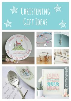 Christening gift ideas for both girls and boys. Click here to check them out: http://withlovefromlou.co.uk/2015/08/christening-gift-ideas/