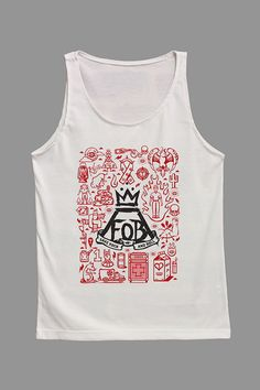 FOB Fall Out Boy Shirts Tank Top Shirt Tunic TShirt by ChillyShirt. THIS ONE IS AWESOME!