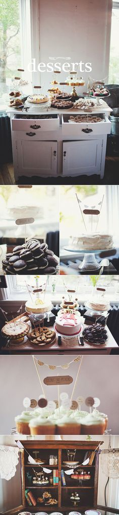 desserts by janis roseanne, via Flickr