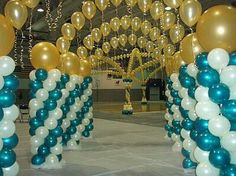 Balloon Columns with arch tunnel Balloon Pillars, Balloon Tower, Balloon Arch, Balloon Garland, Balloon Decorations, Birthday Party Decorations, Wedding Decorations, Balloon Ideas, Birthday Ideas