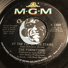 Formations - At The Top Of The Stairs b/w Magic Melody - MGM #13899 - Northern Soul