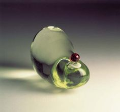 jana Sterback - Perspiration: Olfactory Portrait, 1995 Glass bottle, reconstituted human sweat Height: 25,4 cm Diameter: 15,2 cm Collection of the artist