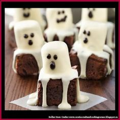Dollar Store Crafter: Spooky Boo Brownies