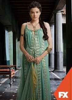 Hanna Mangan Lawrence é Seppia. Spartacus - Nova temporada, domingo 19 de maio, 23h #AssistoFX http://www.fxbrasil.com.br/br/videos/show/4405