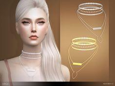 The Sims 4 [Heavendy-cc] Camila Necklace