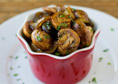 Balsamic Mushrooms and Onions. Balsamic Mushrooms and Onions are perfect on the side of steak or chicken and you can make them while your meat rests under foil. Sugar Detox Recipes, Paleo Recipes, Cooking Recipes, Oats Recipes, Rice Recipes, Onion Recipes, Vegetable Recipes, Mushroom Recipes, Chicken Recipes