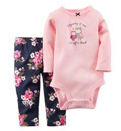 2015 Original Carters Baby Boys Girls Clothings Set, conjuntos roupas de bebe Carters Baby Cotton Bodysuit 3pcs Pants Clothing