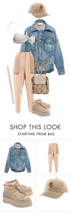 """the road to 1 million views: SANDSTORM"" by xxxthebombshellfactoryxxx ❤ liked on Polyvore featuring Monse, Vanessa Bruno, Puma and Chloé"