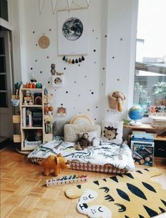 #PlayroomSeating Montessori Baby, Montessori Bedroom, Baby Playroom, Baby Boy Rooms, Room Baby, Kids Homework Station, Montessori Materials, Kids Room Design, Nursery Inspiration