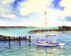 """Sailing"" Giclee Pri"
