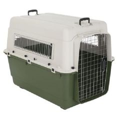 Plastic Dog Crate Carrier Airline Approved Pet Portable House Cage Safety Travel