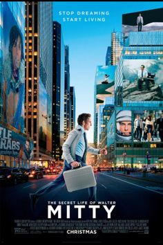 01/2014 The Secret Life of Walter Mitty: a charming story. Definitely a movie to watch when you need an inspiring and uplifting after effect.