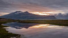 https://flic.kr/p/yg2i4a | Midnight Sun Over Eastern Iceland