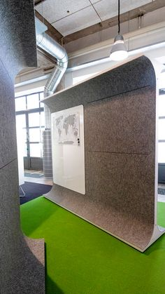 STORY WALL is a classic space divider re-invented. It comes with felt to make it acoustic and sound-friendly. Space Dividers, Wall Spaces, Office Interiors, Office Furniture, Acoustic, Things To Come, Classic, Home Decor, Derby