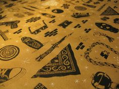 """Gangster Wrap"" Gift Wrapping Paper"