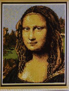 Fine Arts Heritage Society Mona Lisa Painting by Leonardo Da Vinci Cross Stitch Kit
