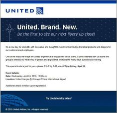 United's New Livery Will Be Revealed Next Wednesday