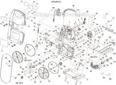 Jet JWBS-12OS Parts List and Diagram - (708901B) : eReplacementParts ...