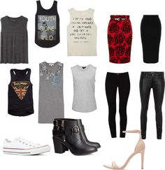 Muscle Tee Outfit Ideas via: BrizzieStyles