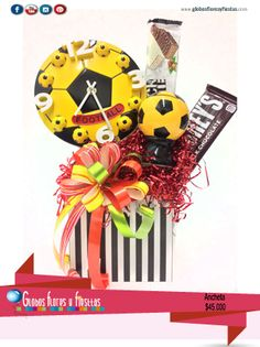 Globos, Flores y Fiestas Sweet Trees, Candy Bouquet, Erika, Ideas Para, Fathers Day, Sweets, Halloween, Gifts, Amor