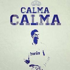 Calma Cr7 Ronaldo, Cristiano Ronaldo, Real Madrid, Football, Fan, Calm, Soccer, Futbol, American Football