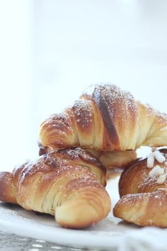 This domain was registered with Match. Nutritious Breakfast, Breakfast Recipes, Dessert Recipes, Desserts, Bake Croissants, Good Morning Breakfast, Brioche Bread, Sugar Cake, Bakery Cakes