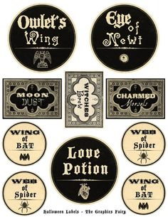 More free printable Halloween labels using Avery 8165 full-sheet labels.