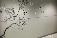 Design mural pour l'immeuble Shamrock / CBRE