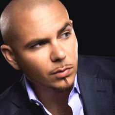 Pitbull mmm mmm Love him! Loved watching him on Katie today! <3
