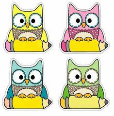Welcome to school Owl Theme Classroom, School Labels, Classroom Organization, Preschool Activities, Teaching Resources, Back To School, Hello Kitty, Clip Art, Kids