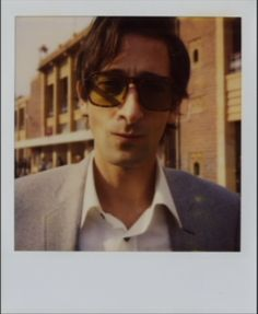 """#polaroid from """"The Darjeeling Limited"""", Adrien Brody."""