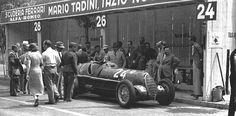 Nuvolari's 6C 35 Hungary 1936