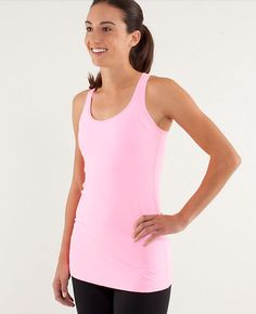 cool racerback//pink shell