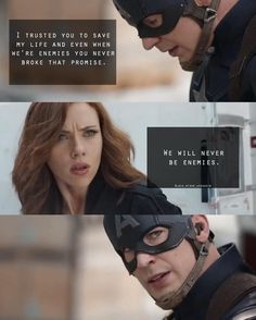 Even though I am a huge Clintasha shipper, I can't help but see the chemistry between Natasha and Steve. I also see the possibilty for romance between Natasha and Bucky, but that is of course neither here nor there. Marvel Jokes, Marvel Dc Comics, Marvel Heroes, Marvel Avengers, Cool 3d, Captain America Civil War, Captain America Black Widow, Black Widow Marvel, Divas