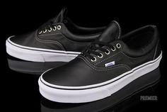 Vans Era 'Aged Leather' - Black   KicksOnFire