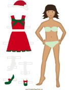 Large selection of paper dolls